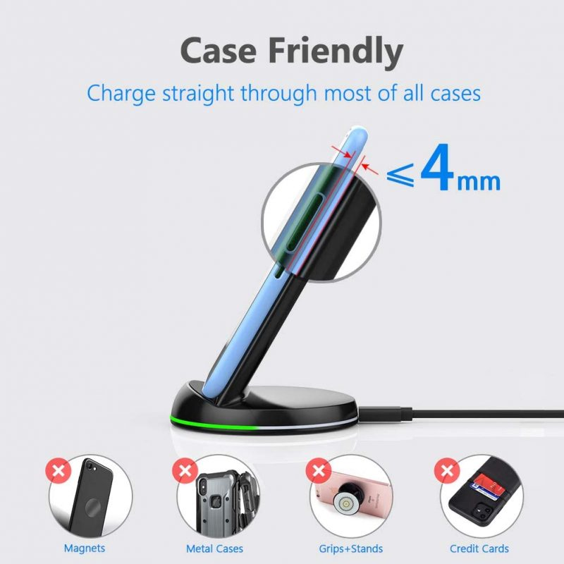 case friendly charger