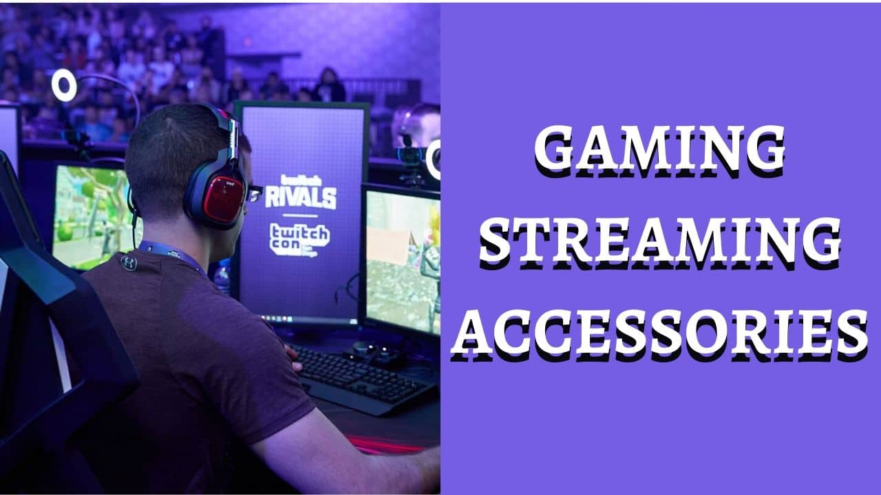 vGAMING STREAMING ACCESSORIES