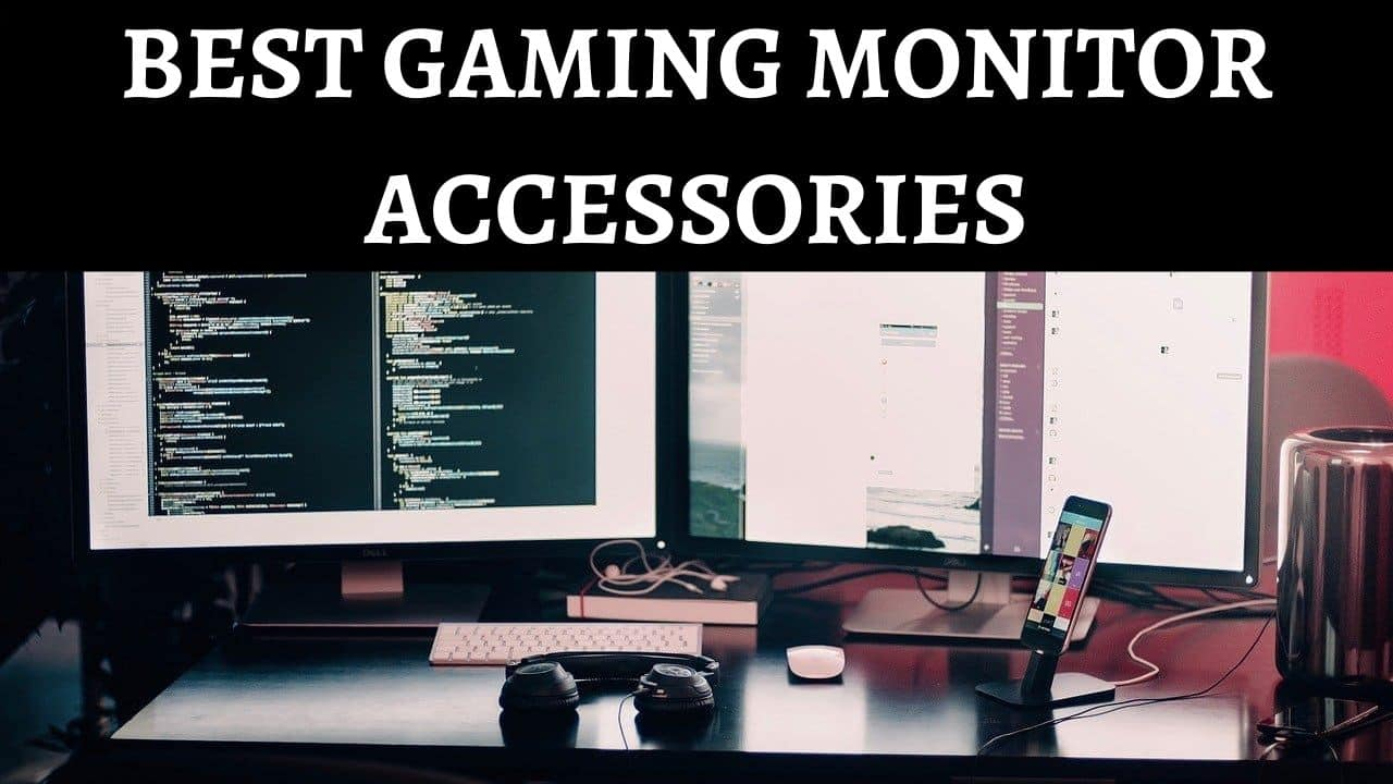 TOP BEST gaming monitor accessories