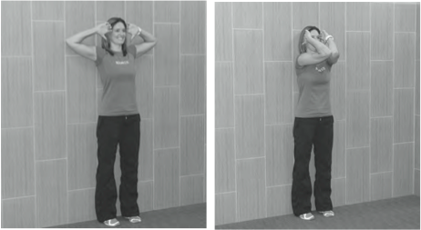 Standing Elbow Circles Exercise