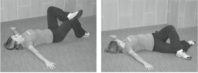 Hold this stretch for one minute on each side of your body.