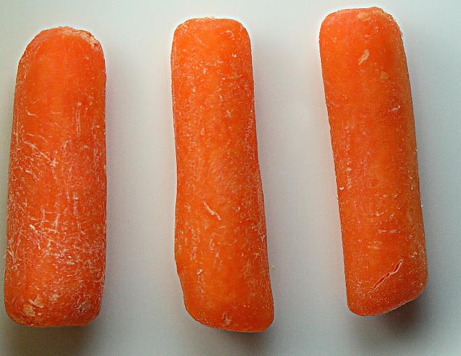 Baby Carrot Calorie Restriction Diet