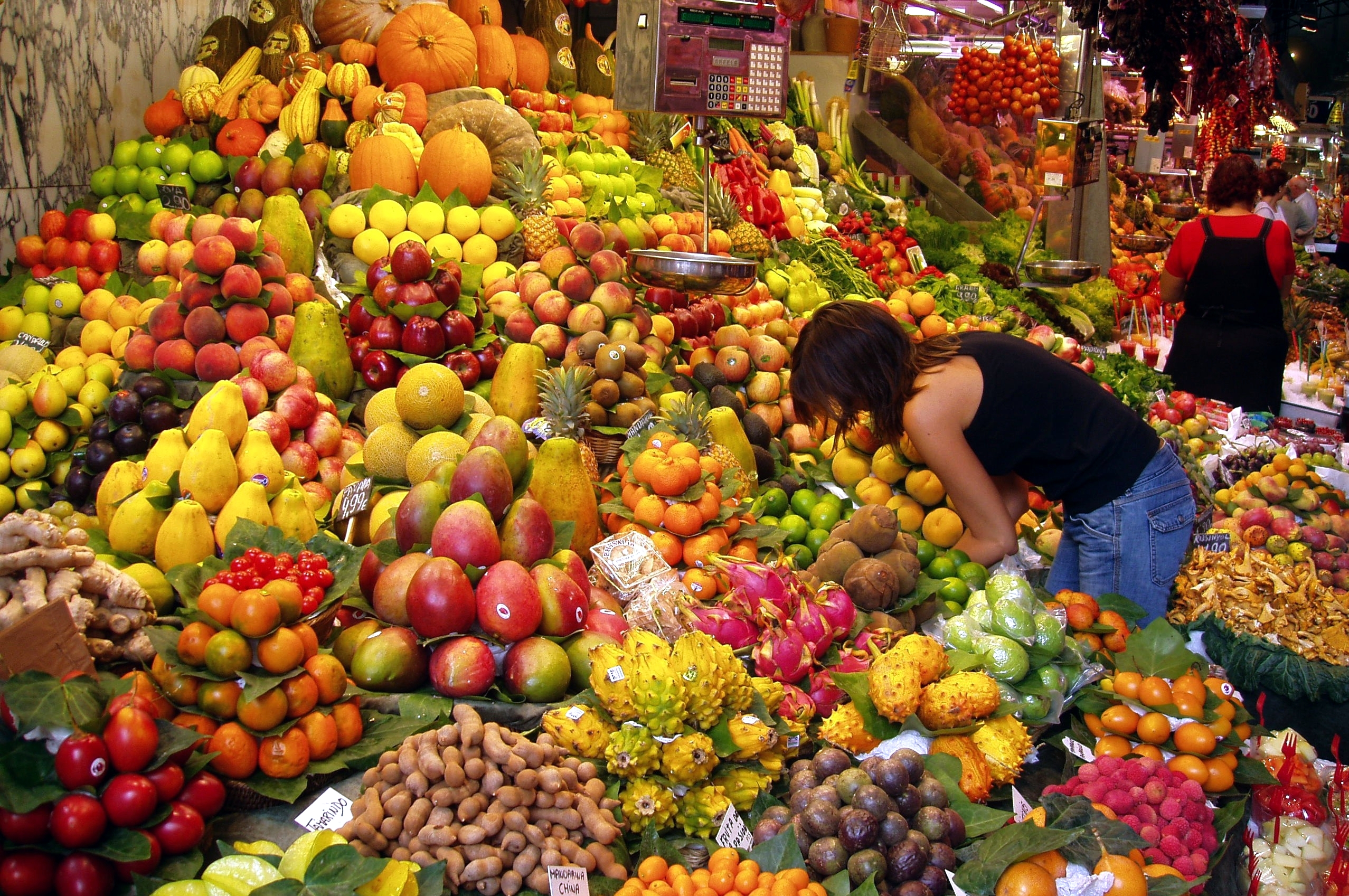 Unlimited Fruit Stand Barcelona