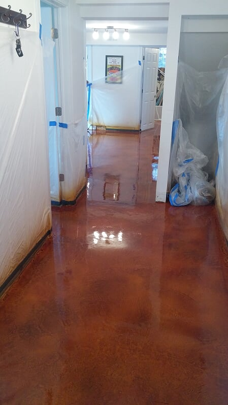 Concrete Staining