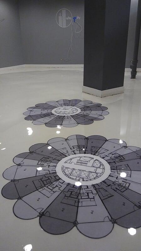 In Floor Logos