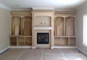 Built-In-Shelving Indianapolis contractor