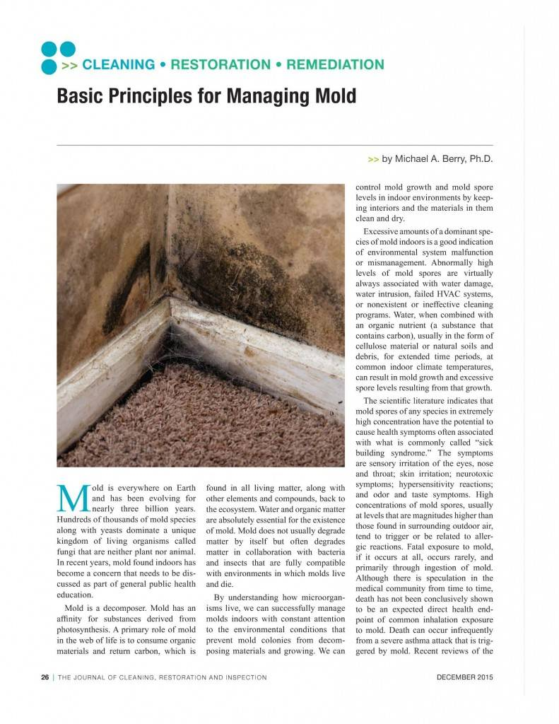 Journal of Cleaning Restoration and Inspection December 2015_Page_1