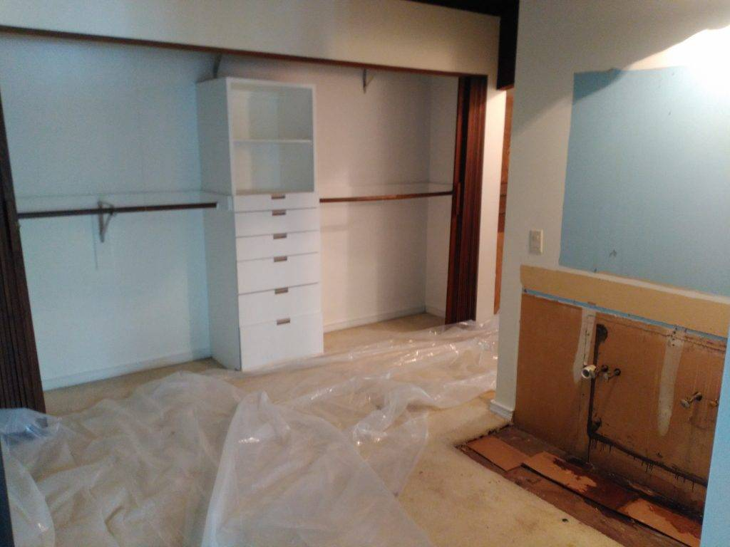 master bedroom remodeling before