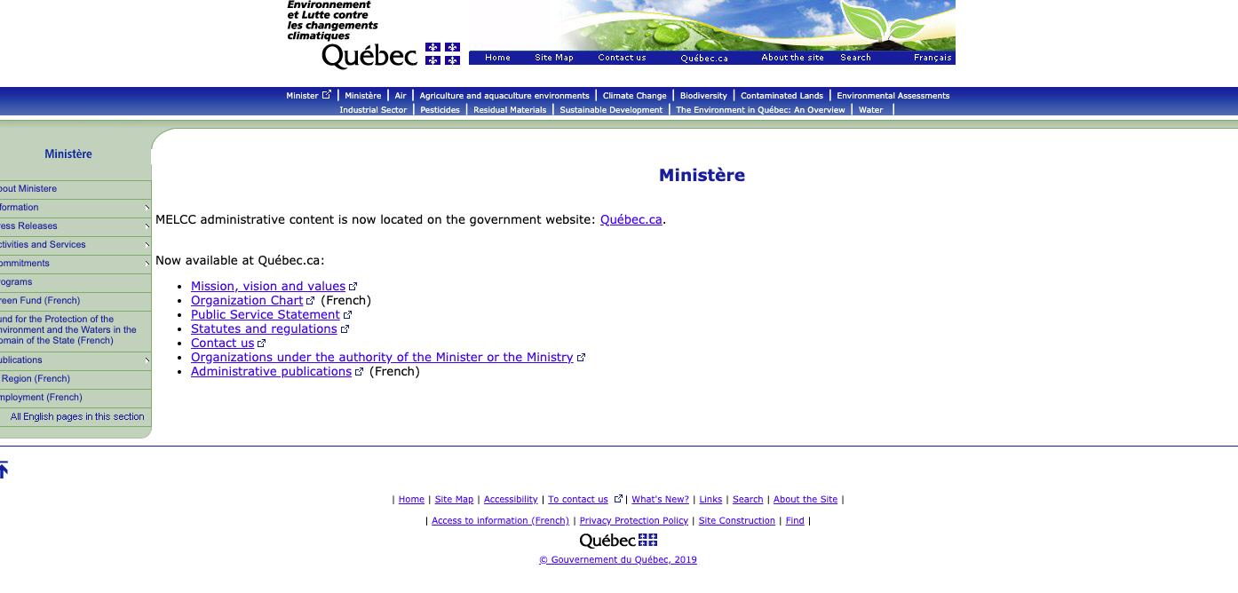 Environnement Quebec