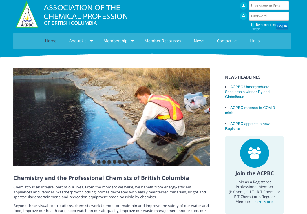 Association of the Chemical Profession of British Columbia