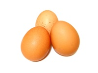 Yolks contain most of the egg's nutrients, including minerals and vitamins. They are rich in protein.