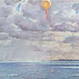 1942 - Detail from Plaskon artwork