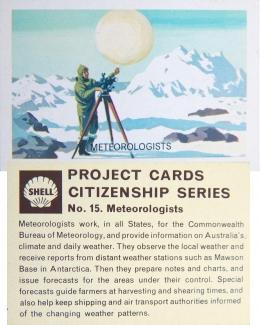 ADVERTISING Card, Shell Oil