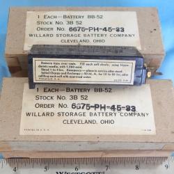 BATTERY BB 52 Willard Storage