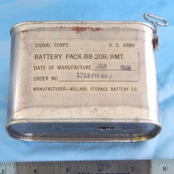 BATTERY PACK BB 208