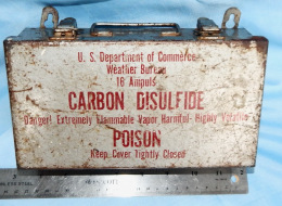 BOX: Weather Bureau, for Carbon Disulfide, Used in AMT-12 Hypsometer