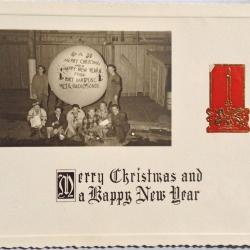 CARD: Christmas, 1942