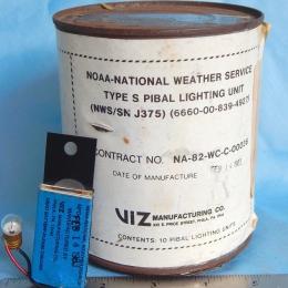 PIBAL LIGHT: NEWS SN J375, 1983