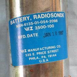 BATTERY: Radiosonde, Viz 2