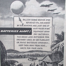 ADVERTISING: Burgess Battery Ad
