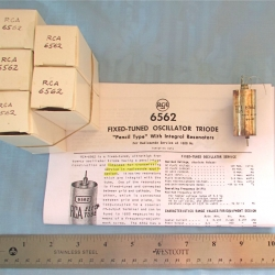 OSCILLATOR: Fix-Tuned RCA 6562