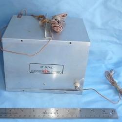 SUPPORT EQUIPMENT: Transceiver, RT-81/AM, from AN/GMQ-5 RAWIN Sounding Unit
