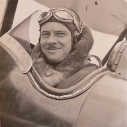 1931--Ralph Wensinger, Weather Bureau Pilot Cleveland OH