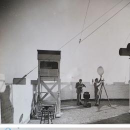1933--Weather Bureau Pilot Balloon Release