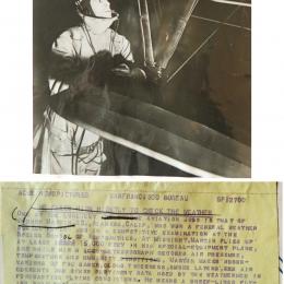 1936--Aero-meteorograph-equipped aircraft San Francisco CA