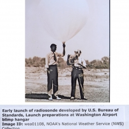 1936--NBS Radiosonde Launch Washington DC