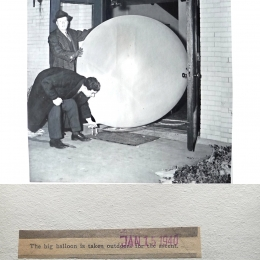1940--Moving Inflated WB Balloon Joliet IL