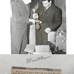 1940--Prepping WB Ballast Bag Joliet IL
