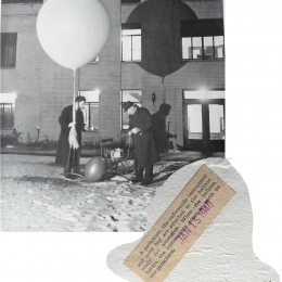 1940--WB Radiosonde Ready for Launch Joliet IL