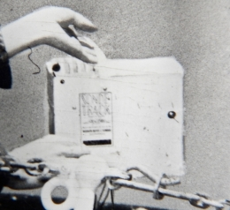 1950--Closeup of Sonde-Track Radiosonde used on Pontchartrain