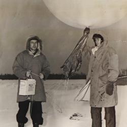 1950--Radiosonde Launch, International Falls, MN
