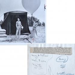 1954--Army Radiosonde Launch Fort Custer