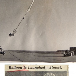 1961--Aborted Balloon Launch, Liberal, KS