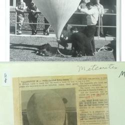 1966--Ozonesonde Launch Preparation Tallahassee FL