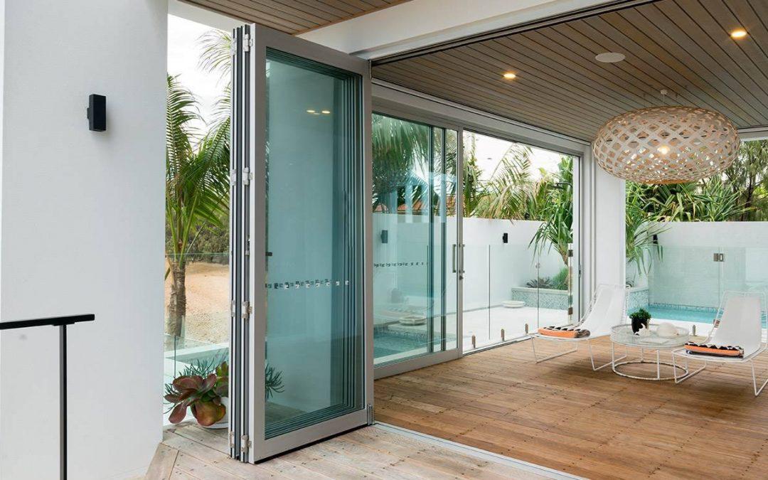 Image of aluminium bifold doors