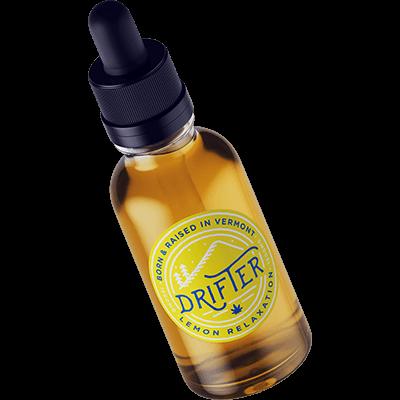 drifter cbd relaxation lemon tincture 1500mg cbd
