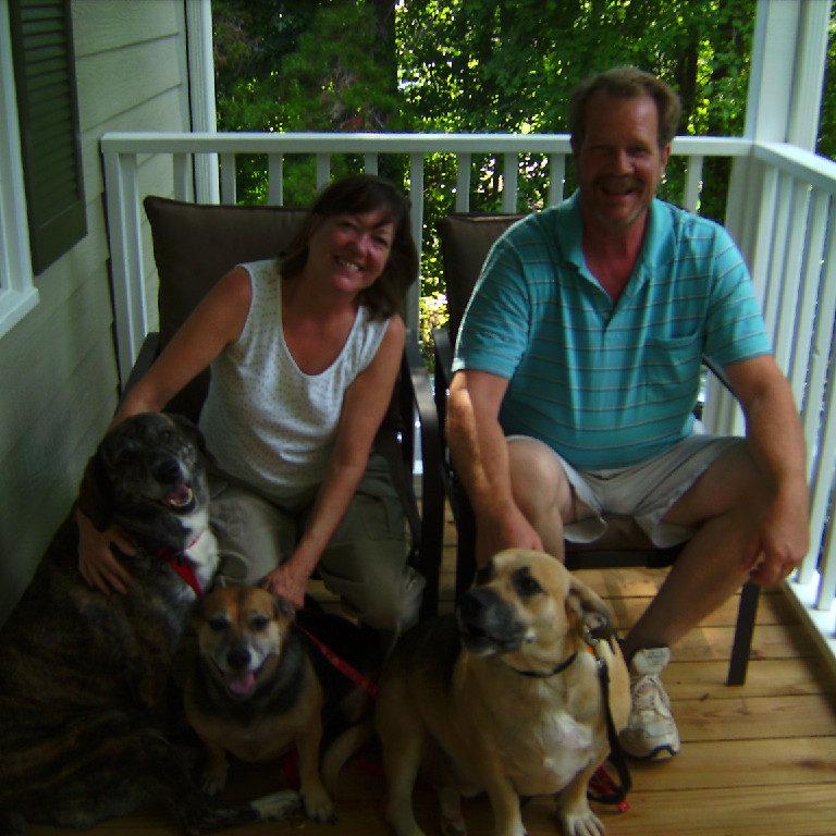 Tina & Reid Moseley  Ellie, PooPoo & Midge