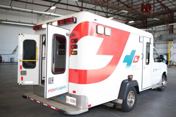 Fox Flight Ambulance Exterior