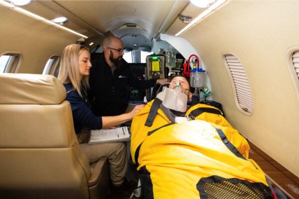 Fox Flight Patient Care Interior