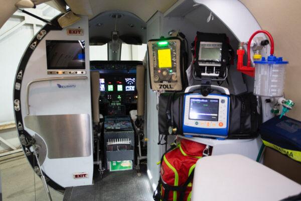 Fox Flight Patient Care Interior Engine