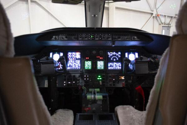 Learjet 40XR Cockpit