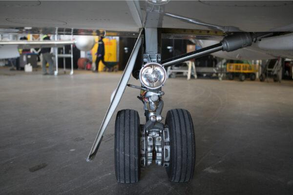 Learjet wheel
