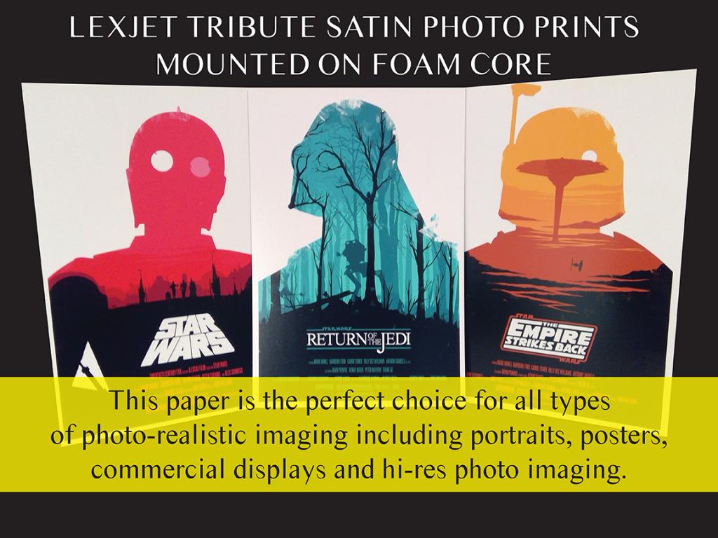 Lexjet Tribute Satin-Star Wars