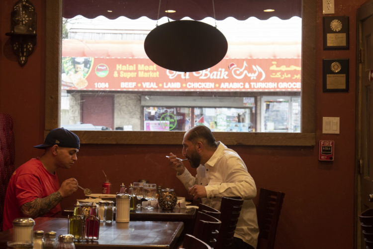 04-14-19 PATERSON, NJ:  Toros Restaurant on Main Street in South Paterson is a family-owned landmark establishment serving traditional Turkish & Mediterranean dishes. They have four restaurants in North Jersey.