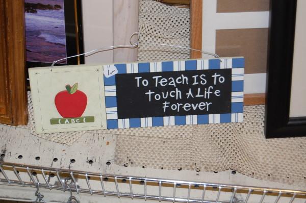 """I'd really like a World's Best Teacher mug!"" said no teacher ever."