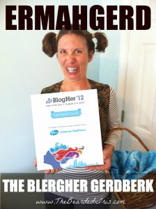 ermahgerd blogher12 guidebook